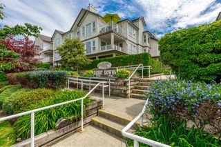 """Photo 1: 202 17740 58A Avenue in Surrey: Cloverdale BC Condo for sale in """"Derby Downs"""" (Cloverdale)  : MLS®# R2395191"""