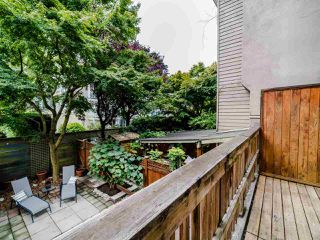 """Photo 16: 105 1922 W 7TH Avenue in Vancouver: Kitsilano Townhouse for sale in """"MAPLE GARDENS"""" (Vancouver West)  : MLS®# R2506845"""