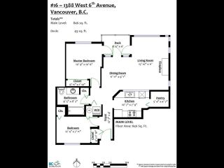 "Photo 14: 16 1388 W 6TH Avenue in Vancouver: Fairview VW Condo for sale in ""NOTTINGHAM"" (Vancouver West)  : MLS®# R2411492"
