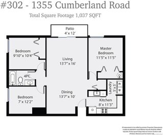 Photo 9: 302 1355 Cumberland Rd in : CV Courtenay City Condo for sale (Comox Valley)  : MLS®# 852363