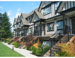 """Photo 1: 33 730 FARROW Street in Coquitlam: Coquitlam West Townhouse for sale in """"FARROW RIDGE"""" : MLS®# V658875"""
