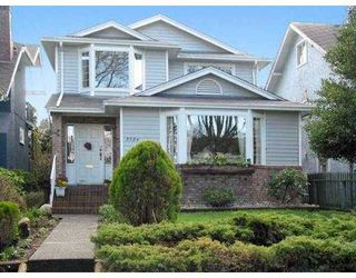 Photo 1: 3524 W 19TH AV in Vancouver: Dunbar House for sale (Vancouver West)  : MLS®# V579957