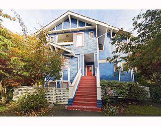 Photo 1: 6 2017 W 15TH Avenue in Vancouver: Kitsilano Townhouse for sale (Vancouver West)  : MLS®# V675039