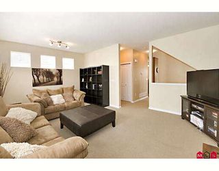 """Photo 2: 12 20582 67TH Avenue in Langley: Willoughby Heights Townhouse for sale in """"Bakerview Estates"""" : MLS®# F2817018"""