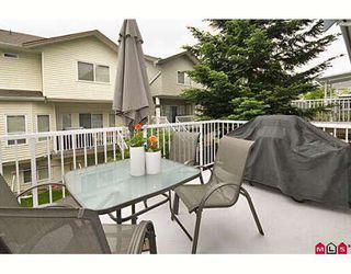 """Photo 9: 12 20582 67TH Avenue in Langley: Willoughby Heights Townhouse for sale in """"Bakerview Estates"""" : MLS®# F2817018"""