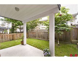 """Photo 10: 12 20582 67TH Avenue in Langley: Willoughby Heights Townhouse for sale in """"Bakerview Estates"""" : MLS®# F2817018"""