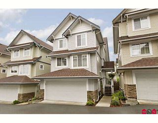 """Photo 1: 12 20582 67TH Avenue in Langley: Willoughby Heights Townhouse for sale in """"Bakerview Estates"""" : MLS®# F2817018"""