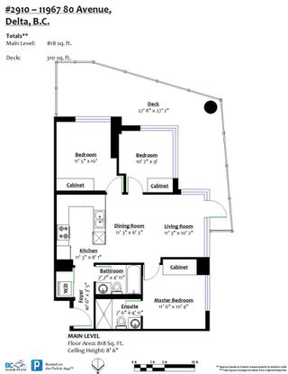 """Photo 20: 2910 11967 80 Avenue in Delta: Scottsdale Condo for sale in """"DELTA RISE"""" (N. Delta)  : MLS®# R2446546"""