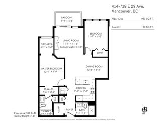 """Photo 19: 414 738 E 29TH Avenue in Vancouver: Fraser VE Condo for sale in """"Century"""" (Vancouver East)  : MLS®# R2470413"""