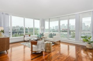 "Photo 9: 701 1833 CROWE Street in Vancouver: False Creek Condo for sale in ""THE FOUNDRY"" (Vancouver West)  : MLS®# R2508702"