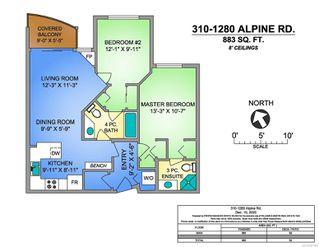 Photo 27: 310 1280 Alpine Rd in : CV Mt Washington Condo for sale (Comox Valley)  : MLS®# 861595
