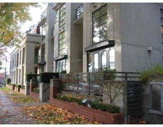 "Photo 1: 2287 W 12TH Ave in Vancouver: Kitsilano Townhouse for sale in ""MOZAIEK"" (Vancouver West)  : MLS®# V637149"