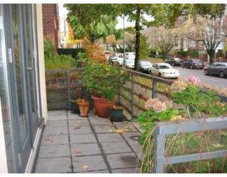 "Photo 10: 2287 W 12TH Ave in Vancouver: Kitsilano Townhouse for sale in ""MOZAIEK"" (Vancouver West)  : MLS®# V637149"