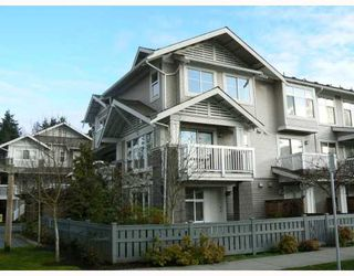 "Photo 1: 14 7533 HEATHER Street in RICHMOND: Townhouse for sale in ""HEATHER GREENE"" (Richmond)  : MLS®# V808019"