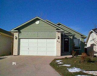 Photo 1: 43 TOLCROSS Gate in Winnipeg: Fort Garry / Whyte Ridge / St Norbert Single Family Detached for sale (South Winnipeg)  : MLS®# 2619388