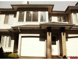 """Photo 1: 18 21579 88B Avenue in Langley: Walnut Grove Townhouse for sale in """"Carriage Park"""" : MLS®# F2716232"""