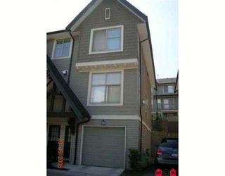 """Photo 1: 28 15152 62A Avenue in Surrey: Sullivan Station Townhouse for sale in """"UPLANDS"""" : MLS®# F2816120"""