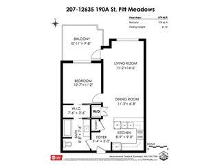 "Photo 30: 207 12635 190A Street in Pitt Meadows: Mid Meadows Condo for sale in ""CEDAR DOWNS"" : MLS®# R2465173"