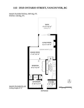"""Photo 22: 112 2515 ONTARIO Street in Vancouver: Mount Pleasant VW Condo for sale in """"ELEMENTS"""" (Vancouver West)  : MLS®# R2473031"""