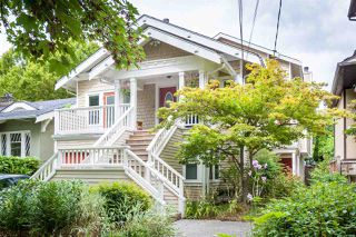 Main Photo: 2585 W 6TH Avenue in Vancouver: Kitsilano Townhouse for sale (Vancouver West)  : MLS®# R2492958