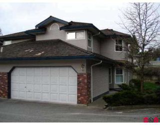"""Photo 1: 36060 LOWER SUMAS MTN Road in Abbotsford: Abbotsford East Townhouse for sale in """"Mountain View Village"""" : MLS®# F2707133"""
