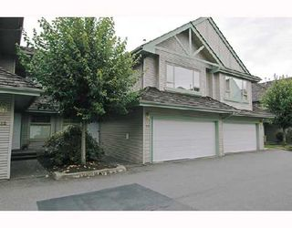 """Photo 1: 23 1255 RIVERSIDE Drive in Port_Coquitlam: Riverwood Townhouse for sale in """"RIVERWOOD GREEN"""" (Port Coquitlam)  : MLS®# V671069"""