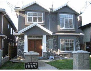 Main Photo: 6651 BROOKS Street in Vancouver: Killarney VE House for sale (Vancouver East)  : MLS®# V679195