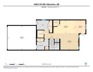 Photo 48: 4420 6 Street in Edmonton: Zone 30 House Half Duplex for sale : MLS®# E4197021