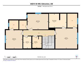 Photo 49: 4420 6 Street in Edmonton: Zone 30 House Half Duplex for sale : MLS®# E4197021