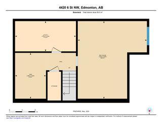 Photo 50: 4420 6 Street in Edmonton: Zone 30 House Half Duplex for sale : MLS®# E4197021