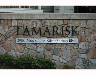 """Photo 1: 103 2968 SILVER SPRINGS Boulevard in Coquitlam: Westwood Plateau Condo for sale in """"TAMARISK AT SILVER SPRINGS"""" : MLS®# V672702"""