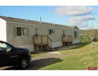 """Main Photo: 4510 POWER Road in No_City_Value: FVREB Out of Town Manufactured Home for sale in """"SUNSET HEIGHTS M.H. PARK"""" : MLS®# F2729261"""