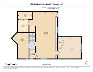 Photo 35: 329 HIDDEN VALLEY Place NW in Calgary: Hidden Valley Detached for sale : MLS®# C4305707