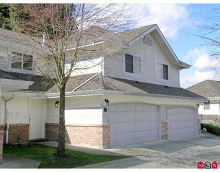 "Photo 1: 8675 WALNUT GROVE Drive in Langley: Walnut Grove Townhouse for sale in ""Cedar Creek"" : MLS®# F2707855"