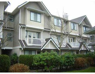 "Photo 1: 7 4933 FISHER Drive in Richmond: West Cambie Townhouse for sale in ""FISHER GARDENS"" : MLS®# V675253"