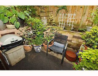 "Photo 6: 104 1655 NELSON Street in Vancouver: West End VW Condo for sale in ""HAMSTEAD MANOR"" (Vancouver West)  : MLS®# V656006"