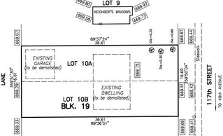 Photo 3: 4622 117 Street in Edmonton: Zone 15 Vacant Lot for sale : MLS®# E4199175