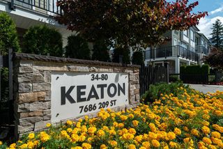 """Main Photo: 40 7686 209 Street in Langley: Willoughby Heights Townhouse for sale in """"Keaton"""" : MLS®# R2485564"""