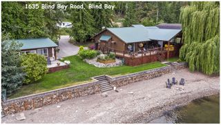 Photo 1: 1635 Blind Bay Road in Sorrento: WATERFRONT House for sale (SORRENTO)  : MLS®# 10213359