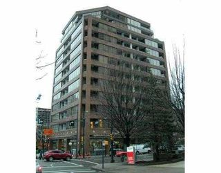 Main Photo: # 612 1010 HOWE ST in Vancouver: Condo for sale : MLS®# V747239