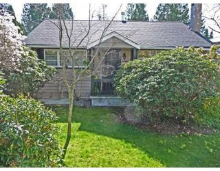 Main Photo: 1215 DORAN RD in North Vancouver: House for sale : MLS®# V816234