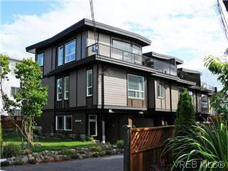 Photo 1: 277B Michigan in VICTORIA: Vi James Bay Townhouse for sale (Victoria)  : MLS®# 296931