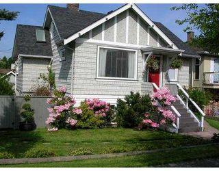 Photo 1: 4535 HARRIET Street in Vancouver: Fraser VE House for sale (Vancouver East)  : MLS®# V709970
