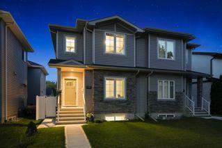 Main Photo: 12137 103 Street in Edmonton: Zone 08 House Half Duplex for sale : MLS®# E4172795