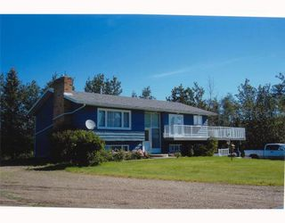 Main Photo: 15025 ROSE PRAIRIE Road in Fort_St._John: Fort St. John - Rural W 100th House for sale (Fort St. John (Zone 60))  : MLS®# N174491
