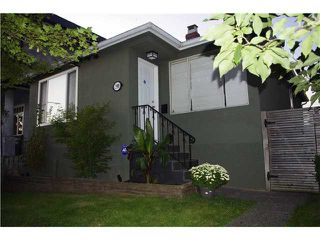 Photo 1: 2591 DUNDAS ST in Vancouver: Hastings East House for sale (Vancouver East)  : MLS®# V910166