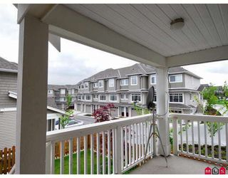 "Photo 9: 15 6852 193RD Street in Surrey: Clayton Townhouse for sale in ""Indigo"" (Cloverdale)  : MLS®# F2817479"