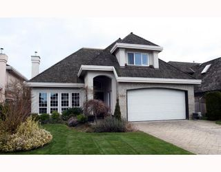 "Photo 1: 1698 SPYGLASS Crescent in Tsawwassen: Cliff Drive House for sale in ""IMPERIAL VILLAGE"" : MLS®# V692802"