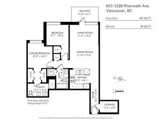 "Photo 18: 603 3168 RIVERWALK Avenue in Vancouver: South Marine Condo for sale in ""Shoreline"" (Vancouver East)  : MLS®# R2426447"