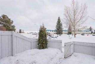 Photo 43: 115 16340 109 Street in Edmonton: Zone 27 Townhouse for sale : MLS®# E4187241
